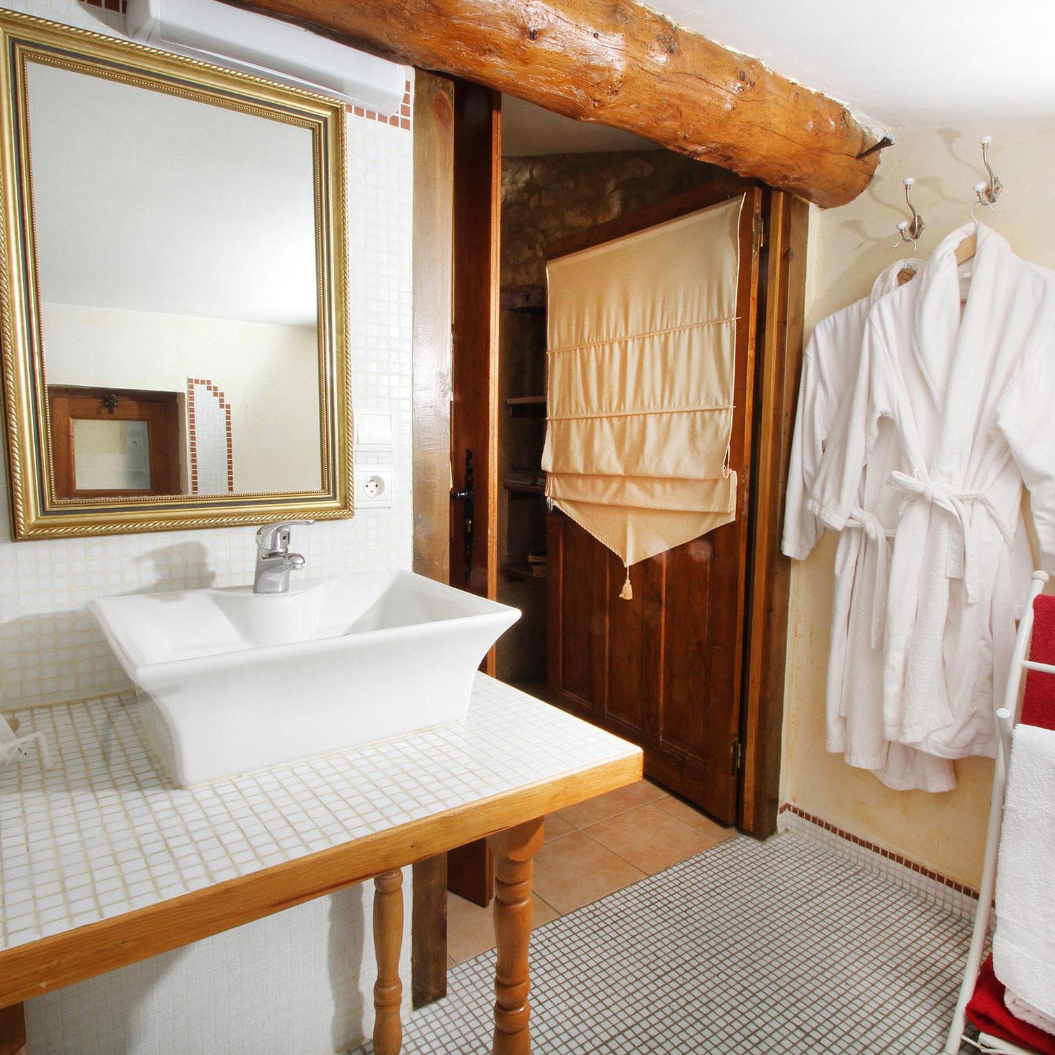 chambres d'hôtes salle de bain